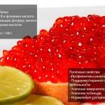 Состав и полезные свойства красной икры