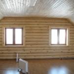 Как сделать стены в деревянном доме?