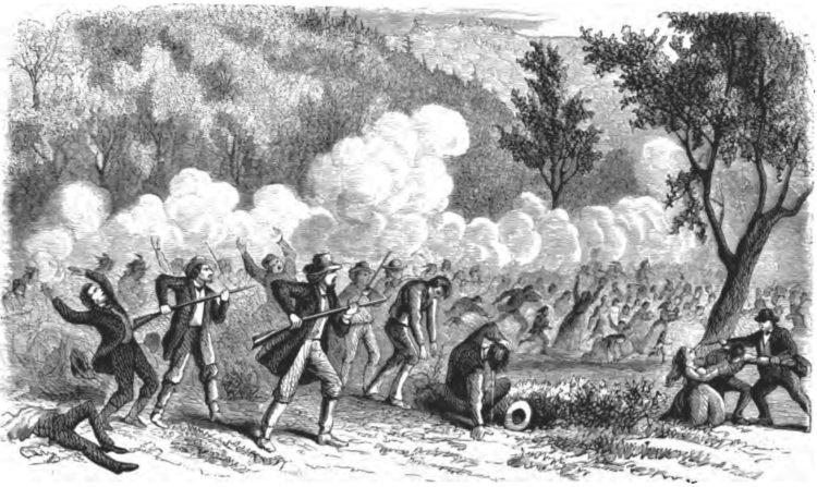 война между американским правительством и мормонами 1857