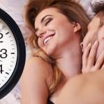 Сколько длится половой акт?