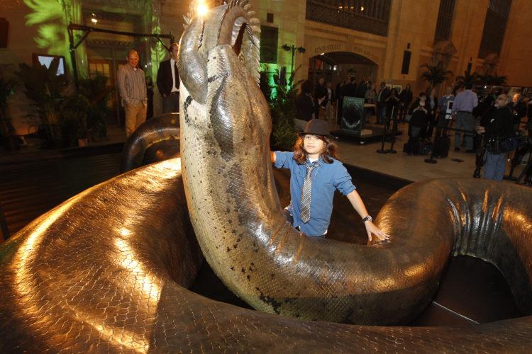 Змея Titanoboa