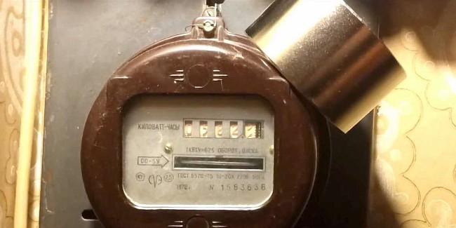Магнит для остановки счётчика