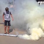 Как сделать дымовую шашку?