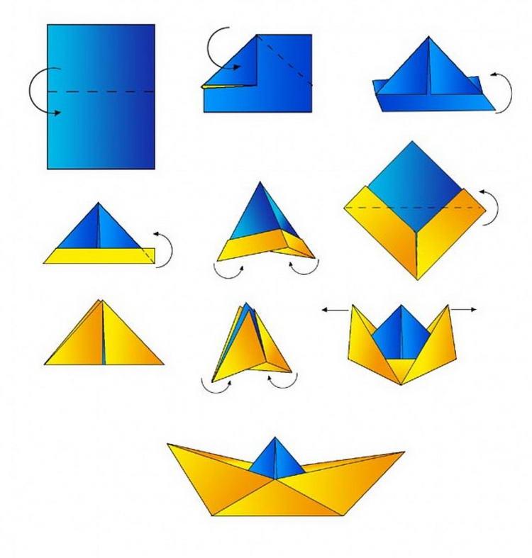 Как сделать из бумаги поэтапно картинки