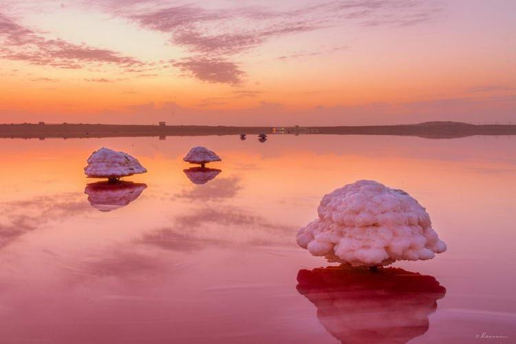 Рассвет на озере Масазыр