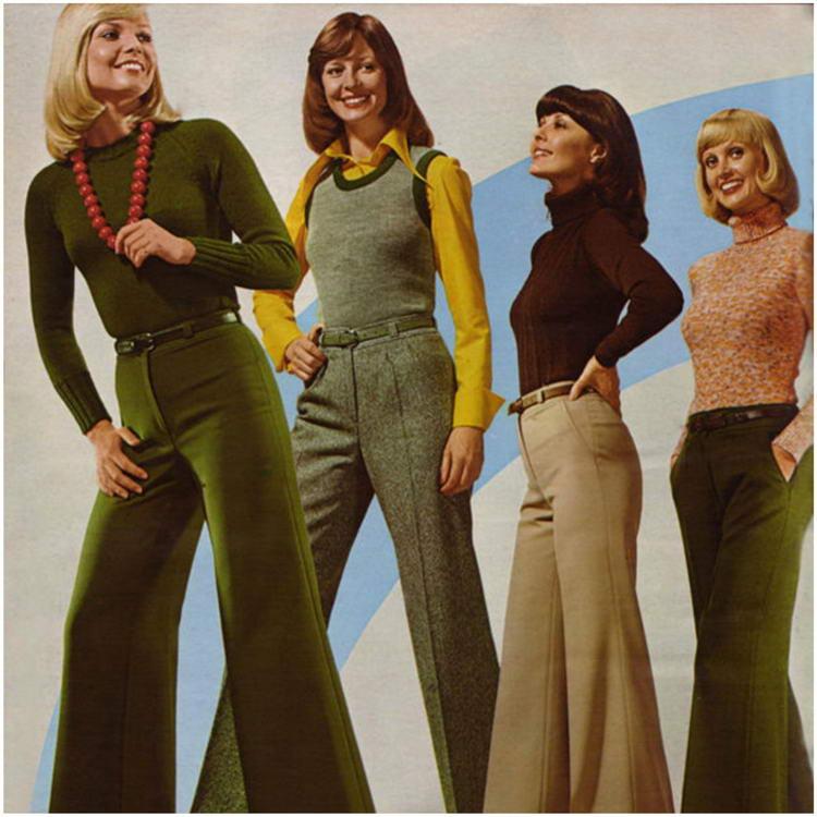 Брюки-капри 60-ые годы