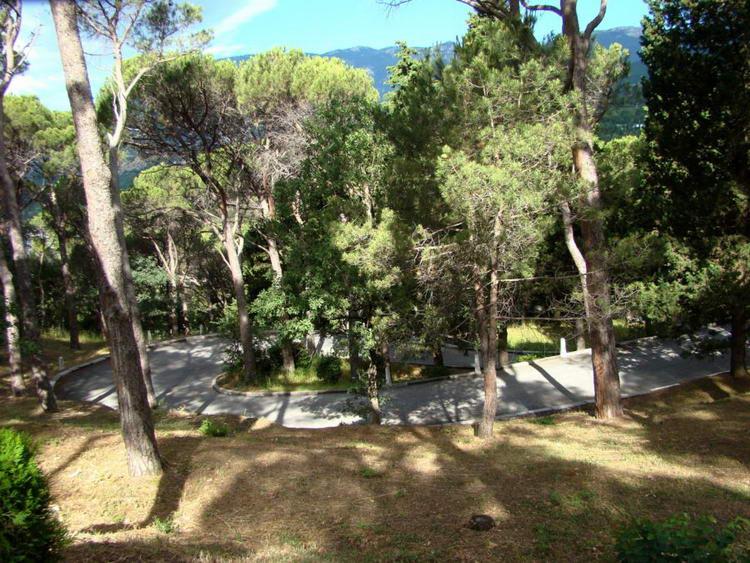 Парк в Артеке