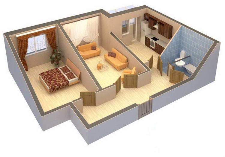 Как сделать удобную планировку квартиры 610