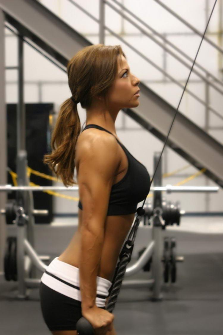 Фото девушек со спины спортсменки