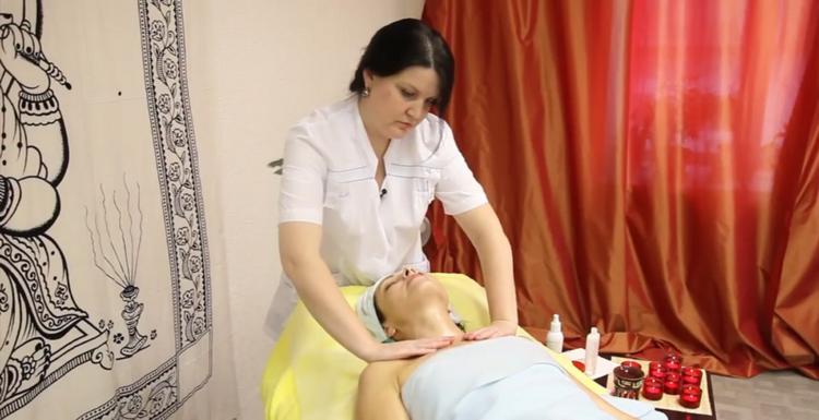 Проведение испанского массажа