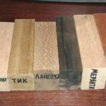 Какие породы дерева используют для изготовления мебели?