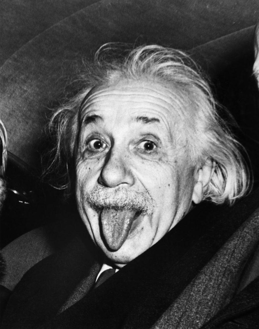 Альберт Эйнштейн 1951 год