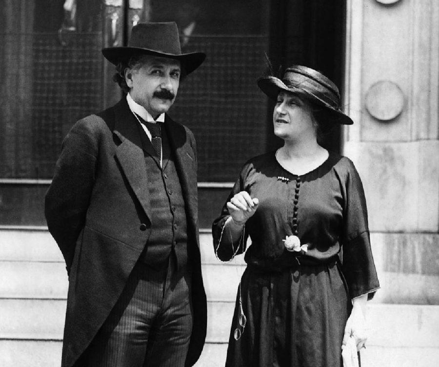 Альберт Эйнштейн и Эльза