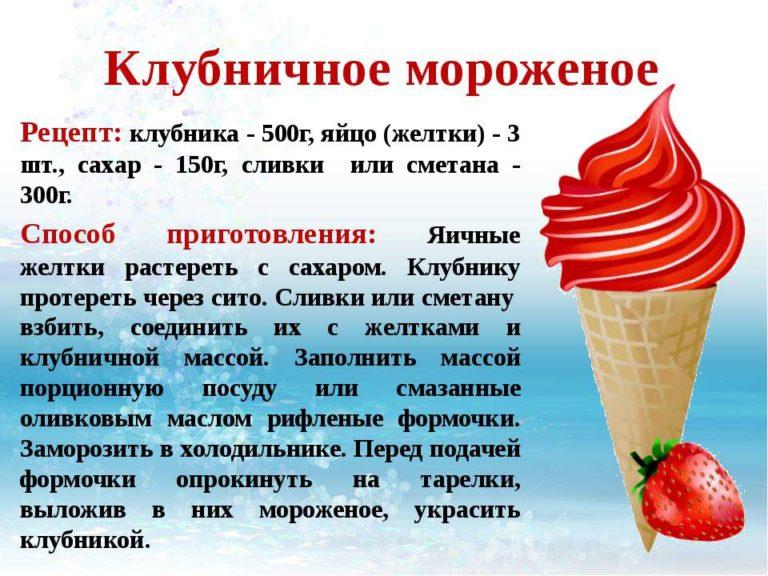 Мороженое рецепт самые вкусные