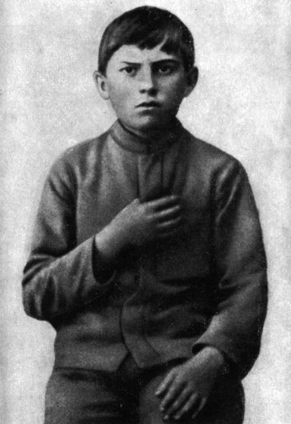 Володя Маяковский - ученик 1-го класса