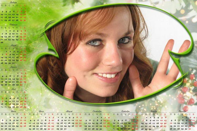 Как сделать календарь в фотошопе (+ видео)