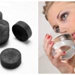 Активированный уголь для уменьшения объема живота