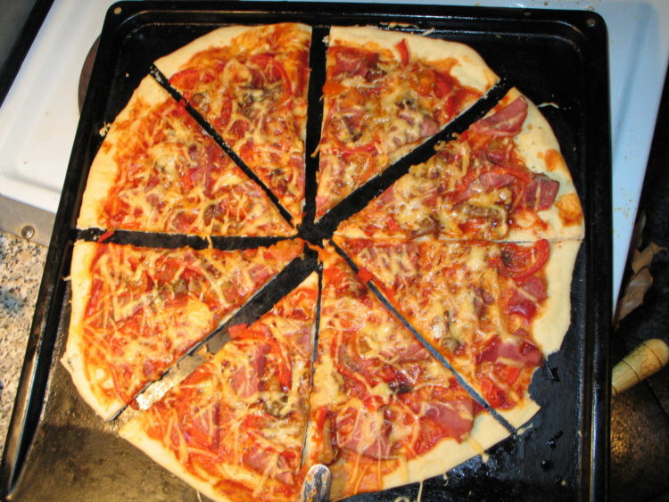 Пицца испечь дома рецепт