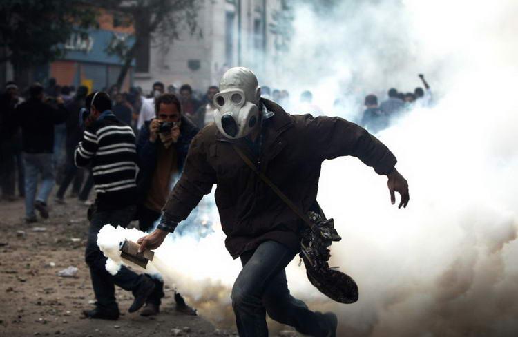 Фотография протеста в Египте