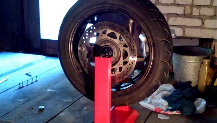 Балансировочный станок для колес своими руками