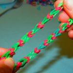 Как сделать браслет из резинок?