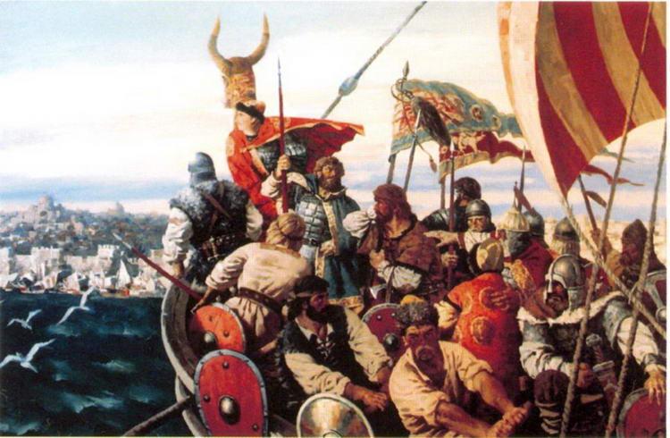 Поход князя Игоря на Византию А. Быстров