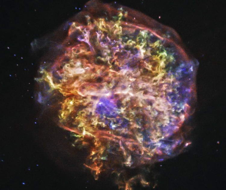 Сверхновая звезда Тихо Браге