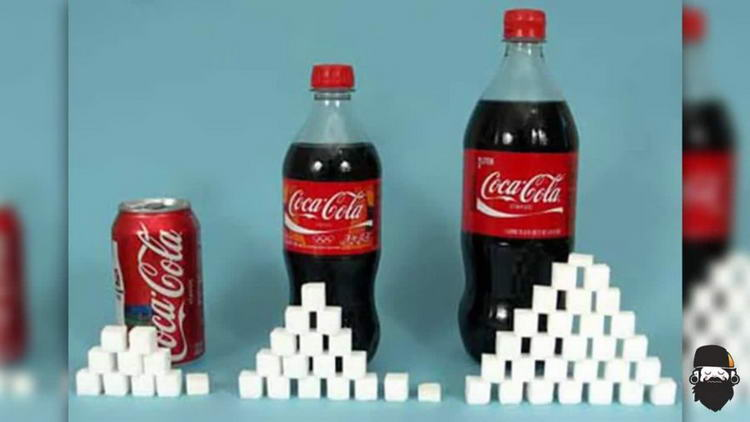 Количество сахара в кока-коле
