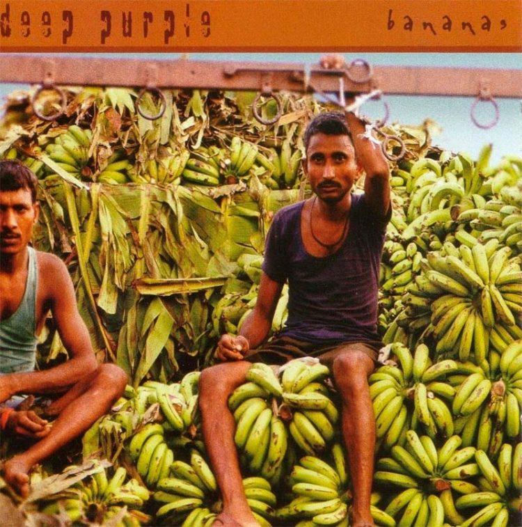 17-й студийный альбом группыDeep Purple2003 года называется «Bananas».