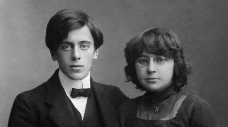 Марина Цветаева с женихом Сергеем Эфроном. 1911 год